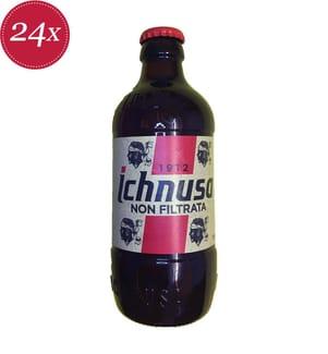 Birra Ichnusa Non Filtrata - 24 x 33 cl