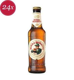 Birra Moretti Bier Original - 24 x 33 cl