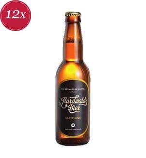 Hardwald Bier Glattgold - 12x 33 cl