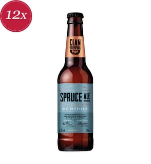 Clan Brewing Spruce Ale / Islay Whisky Fass - 12x 33 cl