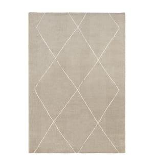 ELLE DECORATION - Teppich Glow - Beige - Cremeweiss - 120x170 cm