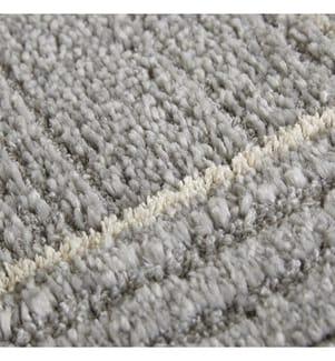 ELLE DECORATION - Teppich Glow - Hellgrau - Cremeweiss - 120x170 cm
