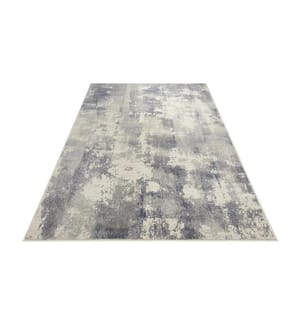 ELLE DECORATION - Teppich Premier - Blau - Grau - 160x230 cm