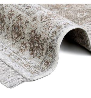 ELLE DECORATION - Teppich Ghazni - Beige - Braun - 135x195 cm