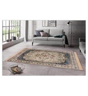 ELLE DECORATION - Teppich Ghazni - Beige - Mehrfarbig - 195x300 cm