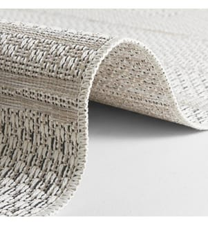 ELLE DECORATION - Teppich Embrace - Cremeweiss - Beige - 77x150 cm