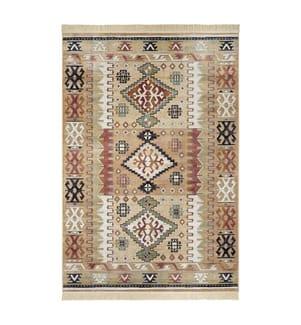 ELLE DECORATION - Teppich Ghazni - Mehrfarbig - 95x140 cm