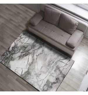 Teppich Marmol 160 x 230 cm - Grau