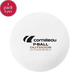 CORNILLEAU - TT-Bälle P-Ball Outdoor (6 Stk.)