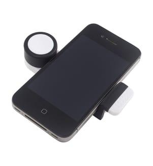 BALVI - Smartphone-Halterung Octopus - Weiss und Schwarz