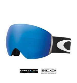 OAKLEY - Skibrille Flight Deck™ Prizm™ - Schwarz