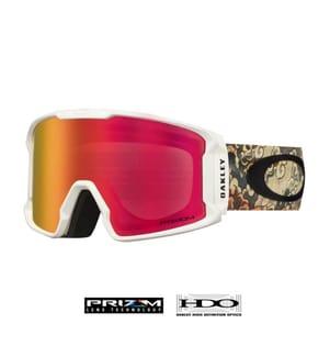 OAKLEY - Skibrille Line Miner™ Prizm™ Kazu Kokubo - Weiss