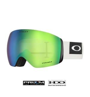 OAKLEY - Skibrille Flight Deck™ Prizm™ - Weiss