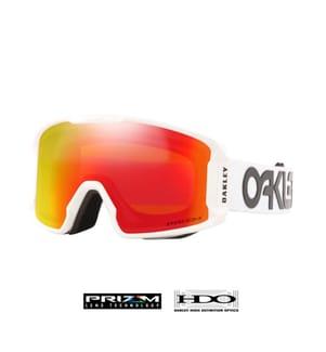 OAKLEY - Skibrille Line Miner™ XM Factory Pilot - Weiss
