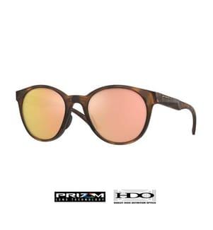 OAKLEY - Sonnenbrille Spindrift Clear - Braun