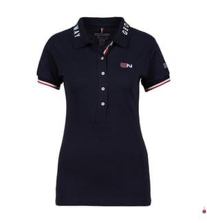 Poloshirt Kanolet - Marinblau