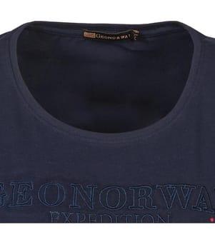 T-Shirt - Marinblau