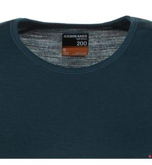 Langarmshirt Merino 200 Oasis - Dunkelblau