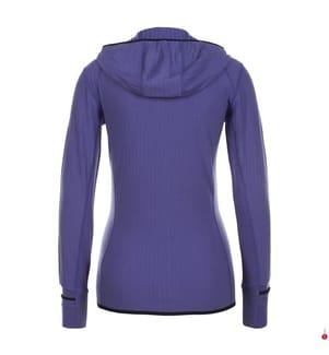 Gilet RealFleece® Merino Descender - Violett