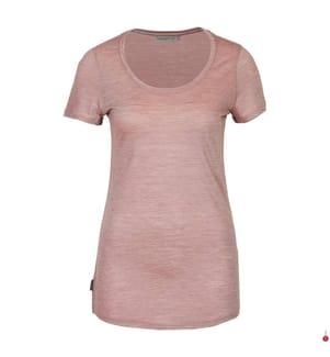 T-Shirt Sphere Scoop - Rosa