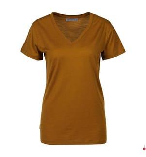 T-Shirt Merino Ravyn - Camel