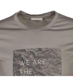 T-Shirt Merino Nature Dye 200 - Hellgrau