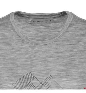 T-Shirt Women's Spector Mountain T Shirt - Hellgrau