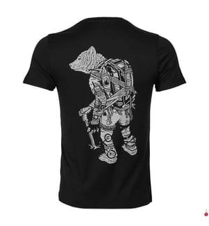 T-Shirt Tech Lite Crewe Nomad - Schwarz