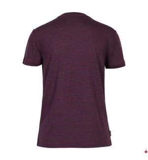 T-Shirt Dowlas - Dunkelviolett und Rosa