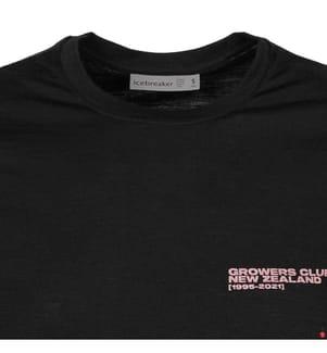 T-Shirt Tech Lite Crewe - Schwarz