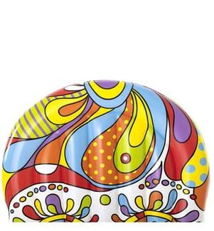 Aufblasbare Insel me x ikanische Kranich Fiesta Schädel 193 x 141 cm