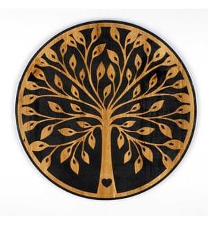 Dekoratives Wandaccessoire Evila Originals - Gold Schwarz
