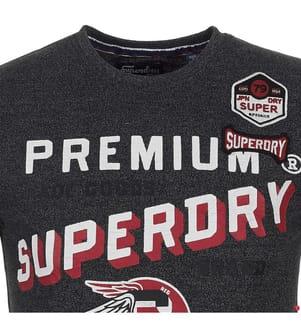 T-Shirt Authentic Supply - Dunkelgrau