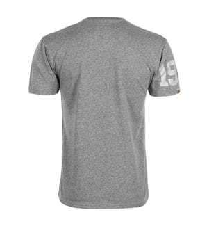 T-Shirt Super Track Metallic Box Fit - Grau
