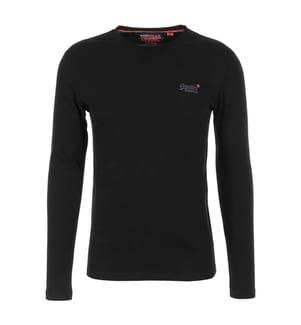 T-Shirt O L Vintage - Schwarz
