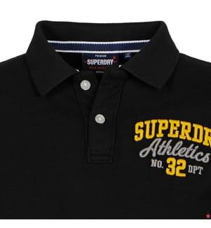 Poloshirt Classic Superstate - Schwarz