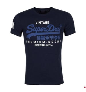 T-Shirt Tri - Marinblau