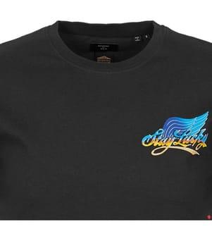 T-Shirt Boho - Schwarz