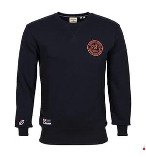 Sweatshirt - Marinblau