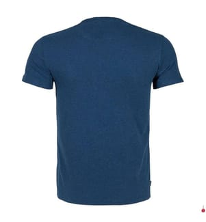 T-Shirt Vintage Embroidery - Dunkelblau