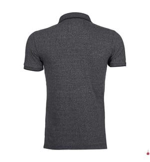 Poloshirt - Dunkelgrau