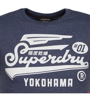 T-Shirt Graphic - Blau