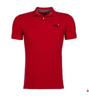 Poloshirt Classic Pique - Rot