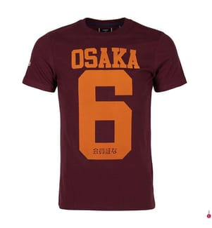 T-Shirt Osaka - Bordeaux
