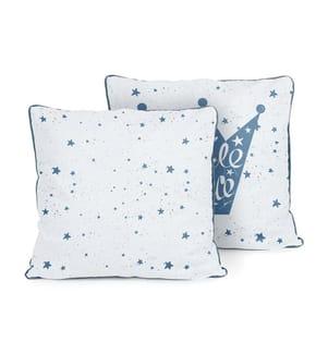 Kissen Little Prince - Blau und Weiss