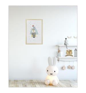 Gerahmtes Bild Polar Bear - 60 x 40 cm