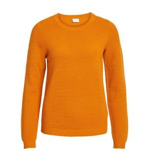 VILA CLOTHES - Pullover Chassa - Hellorange