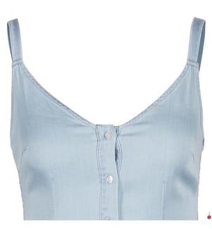 VILA CLOTHES - Kleid - Hellblau