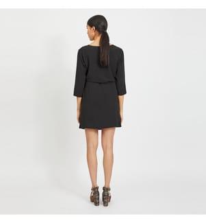 VILA CLOTHES - Kleid Vilovie - Schwarz