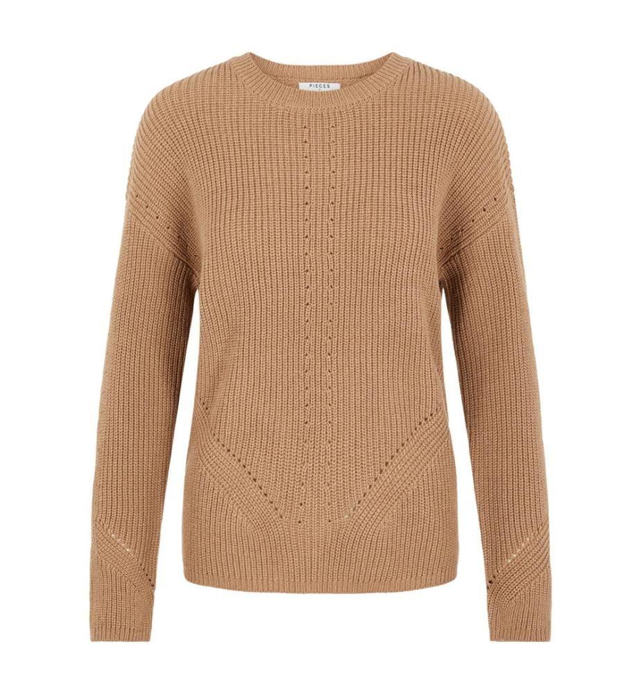 PIECES - Pullover Karie - Beige